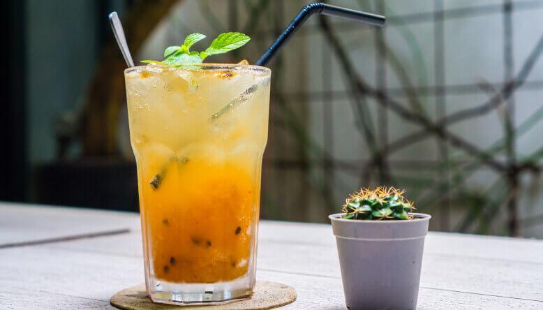 Smoothie Granadilla-Mandarina